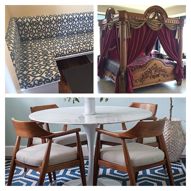Just some recent projects by Forte!  #forte  #fortedesignandupholstery