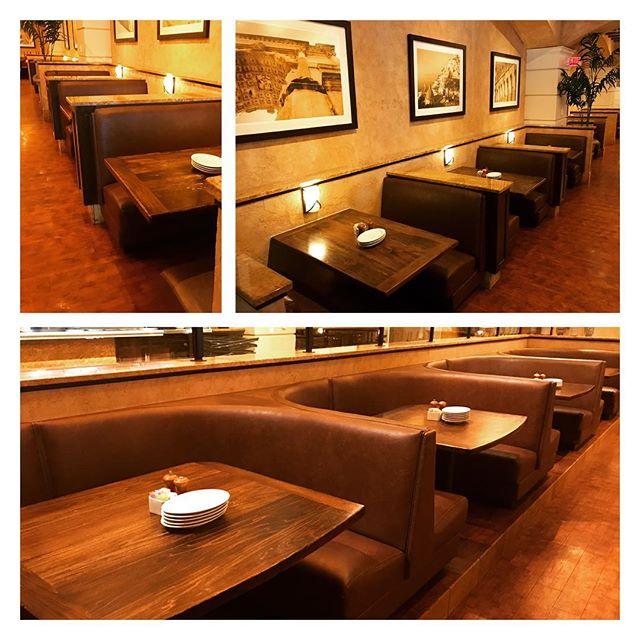 Big thanks to BRIO Tuscan Grille on the Country Club Plaza.  Forte modernized the booth design by eliminating the head-roll while performing a full upholstery makeover! #kansascity #upholstery