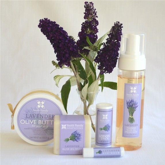 Handmade Lavender Soaps and Skincare