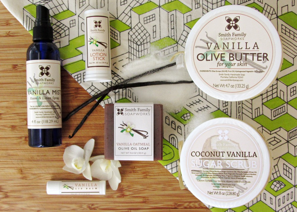 Vanilla Olive Oil Products.jpg