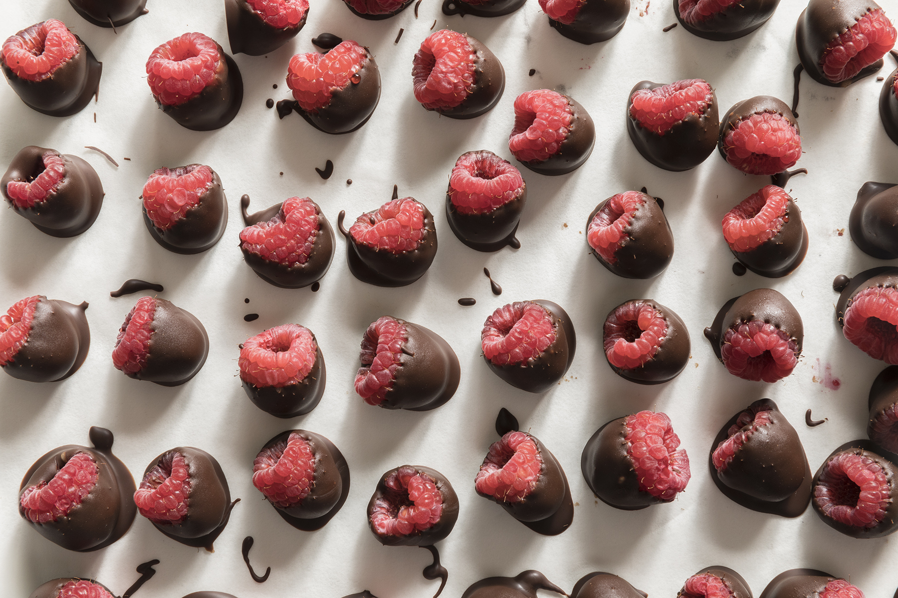 Hand Dipped Chocolate Raspberries