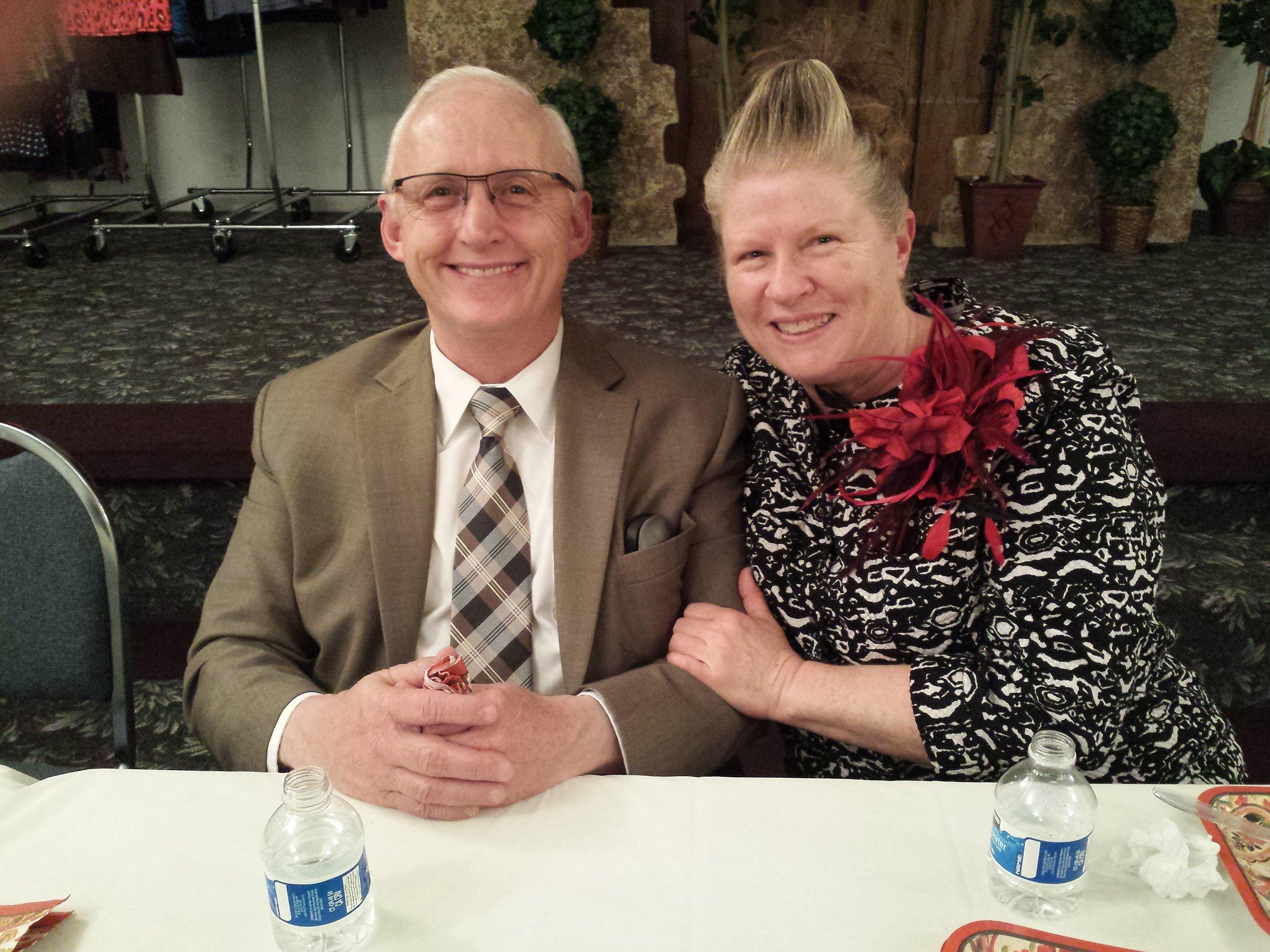 Pastor and Sis. Green