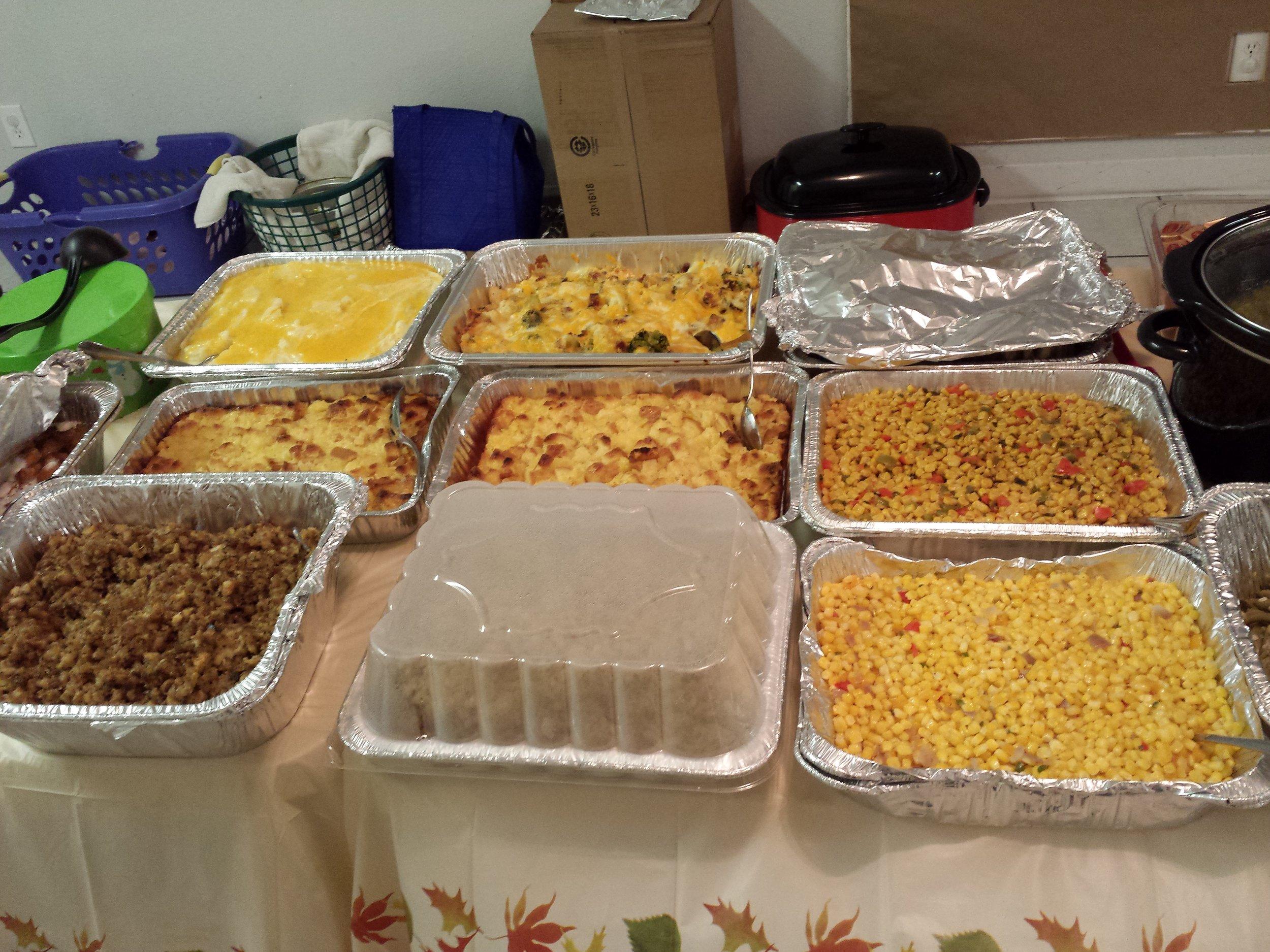 Food, food and more food.