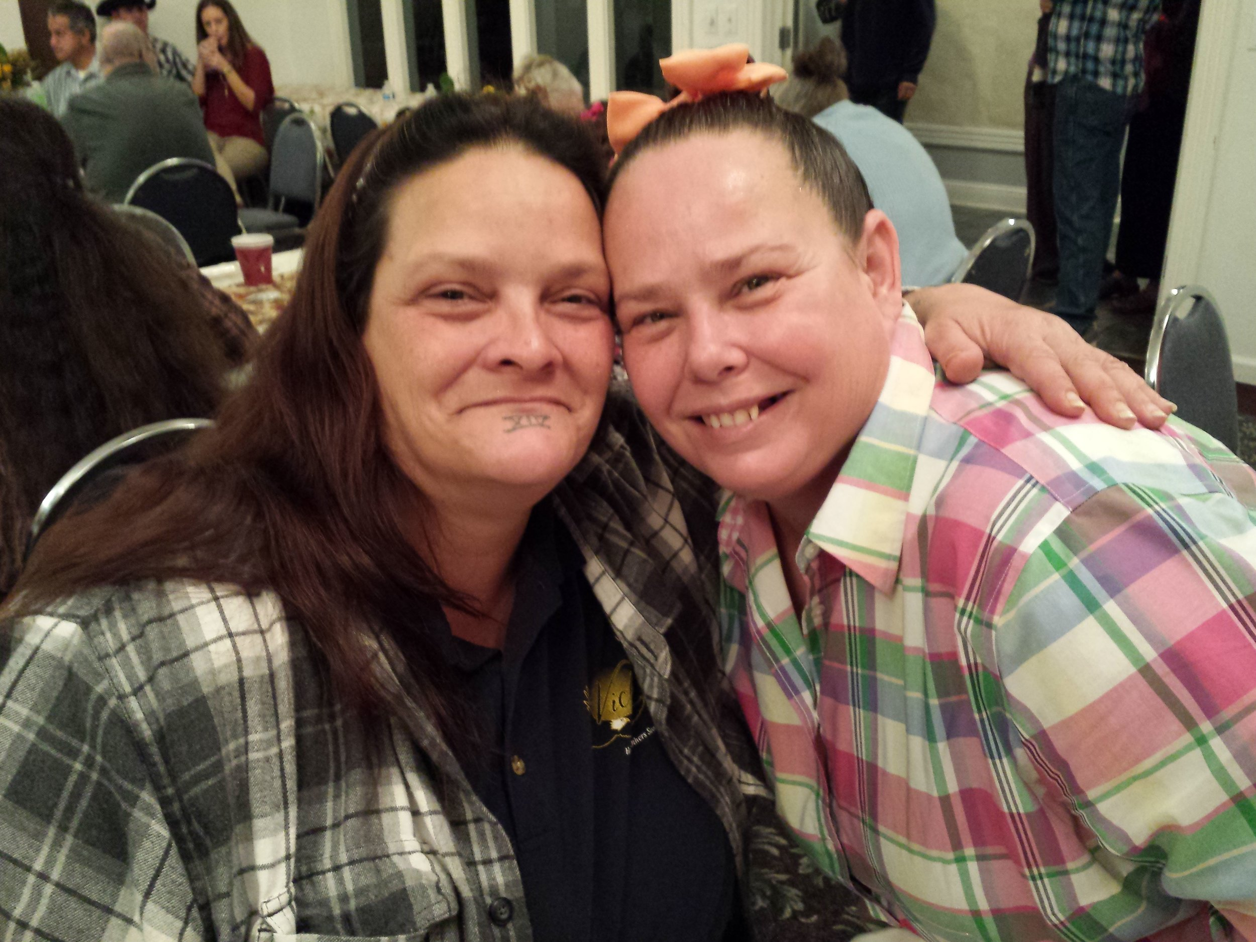 Angie and Sis. Julie Ann