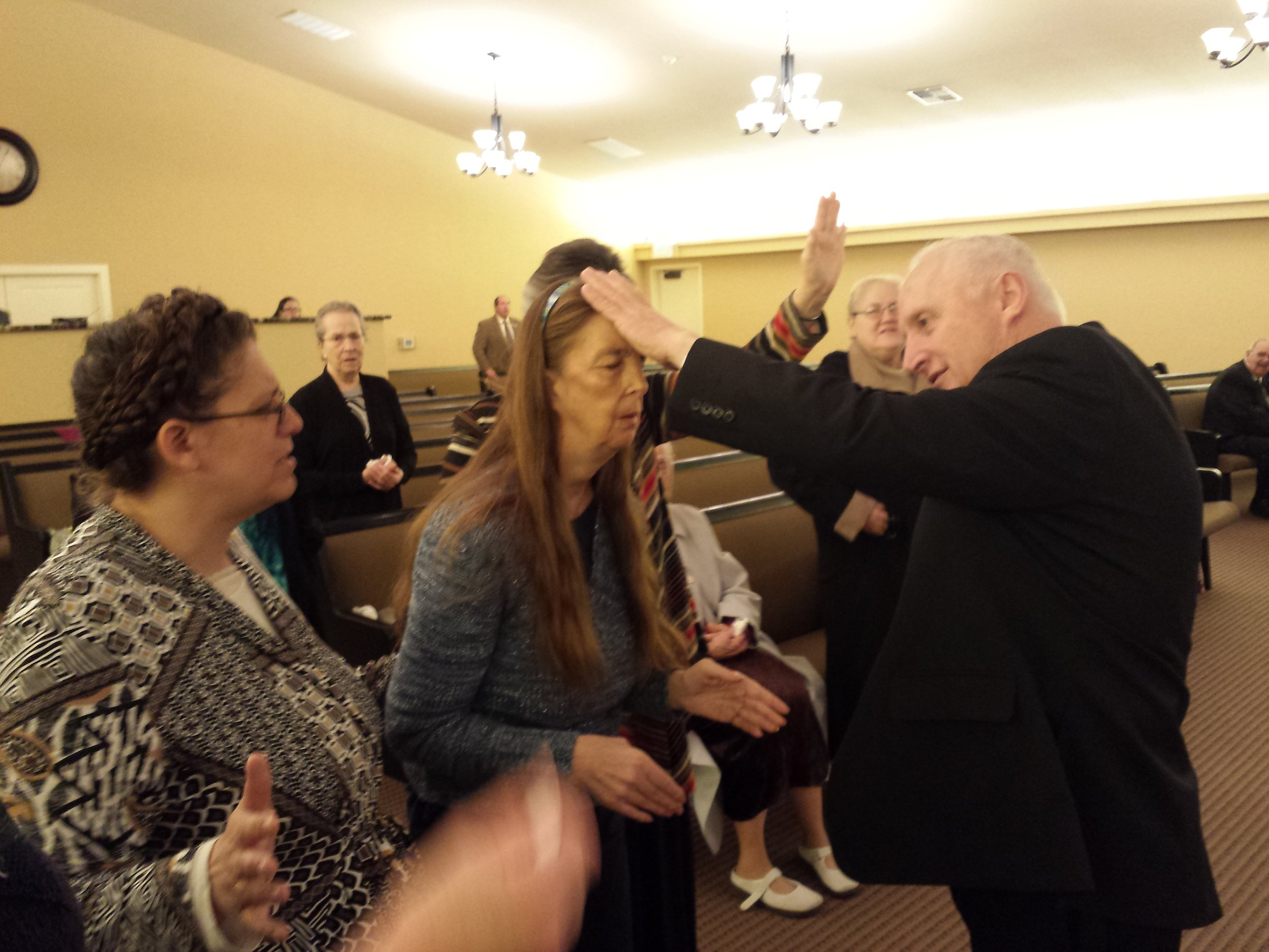 Lisa Dell seeking for the Holy Ghost