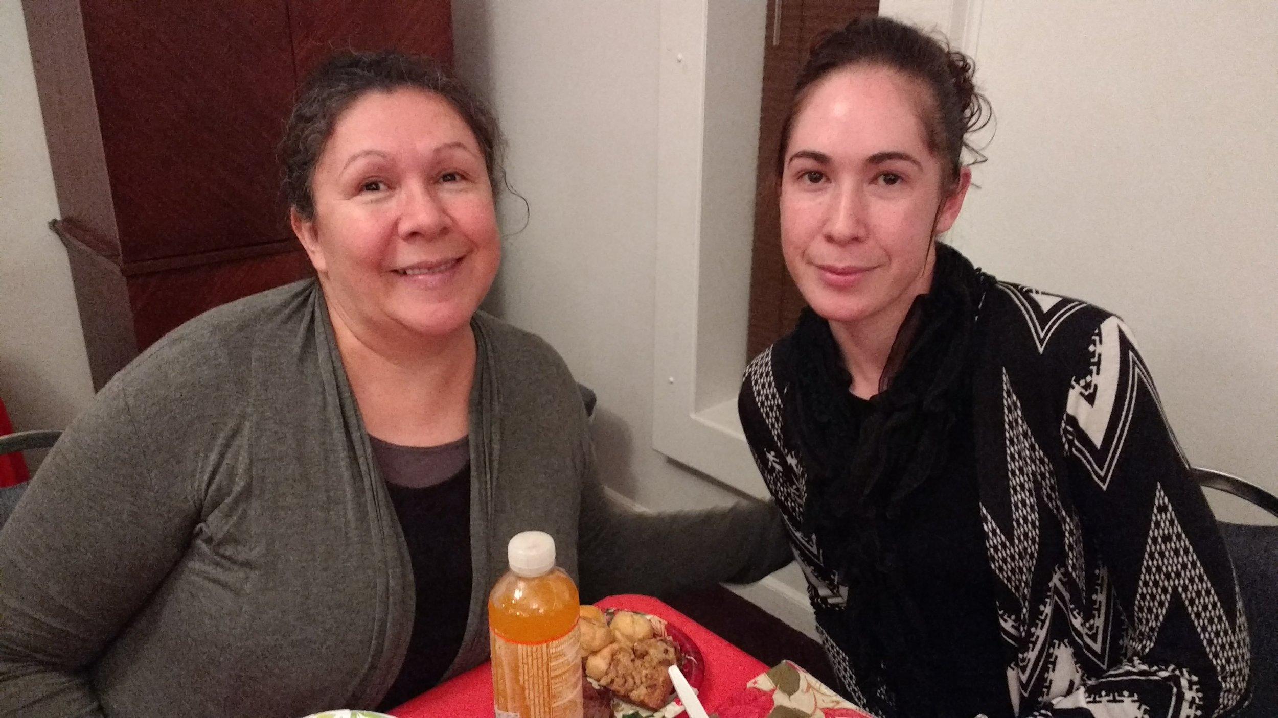 Sis. Magdalena and Sis. Sandra