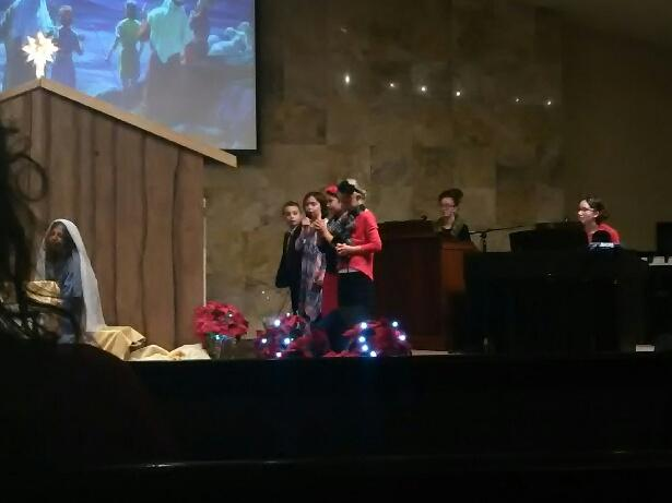 Sunday School Children singing