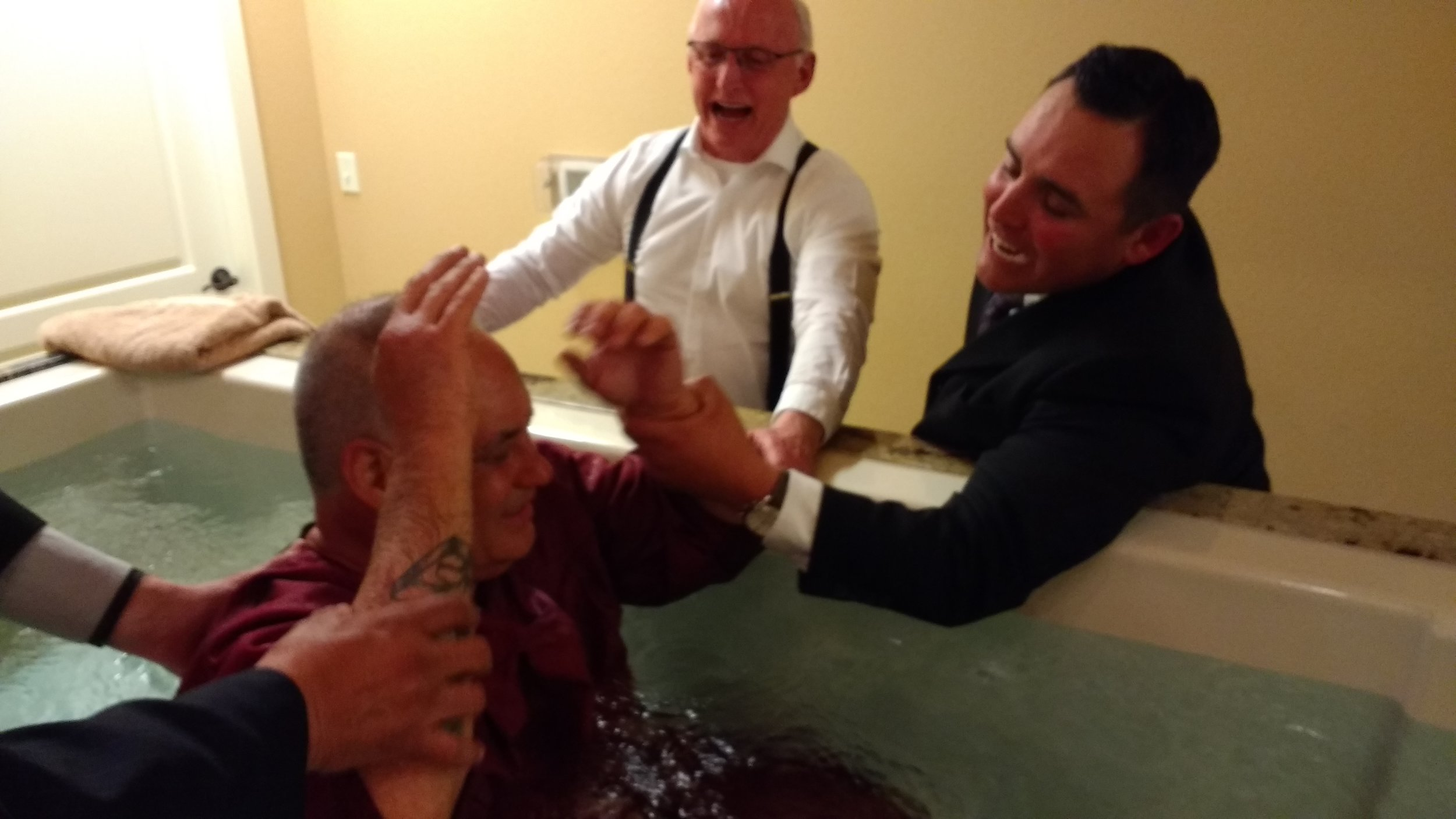God fills Steve with the precious gift of the Holy Ghost
