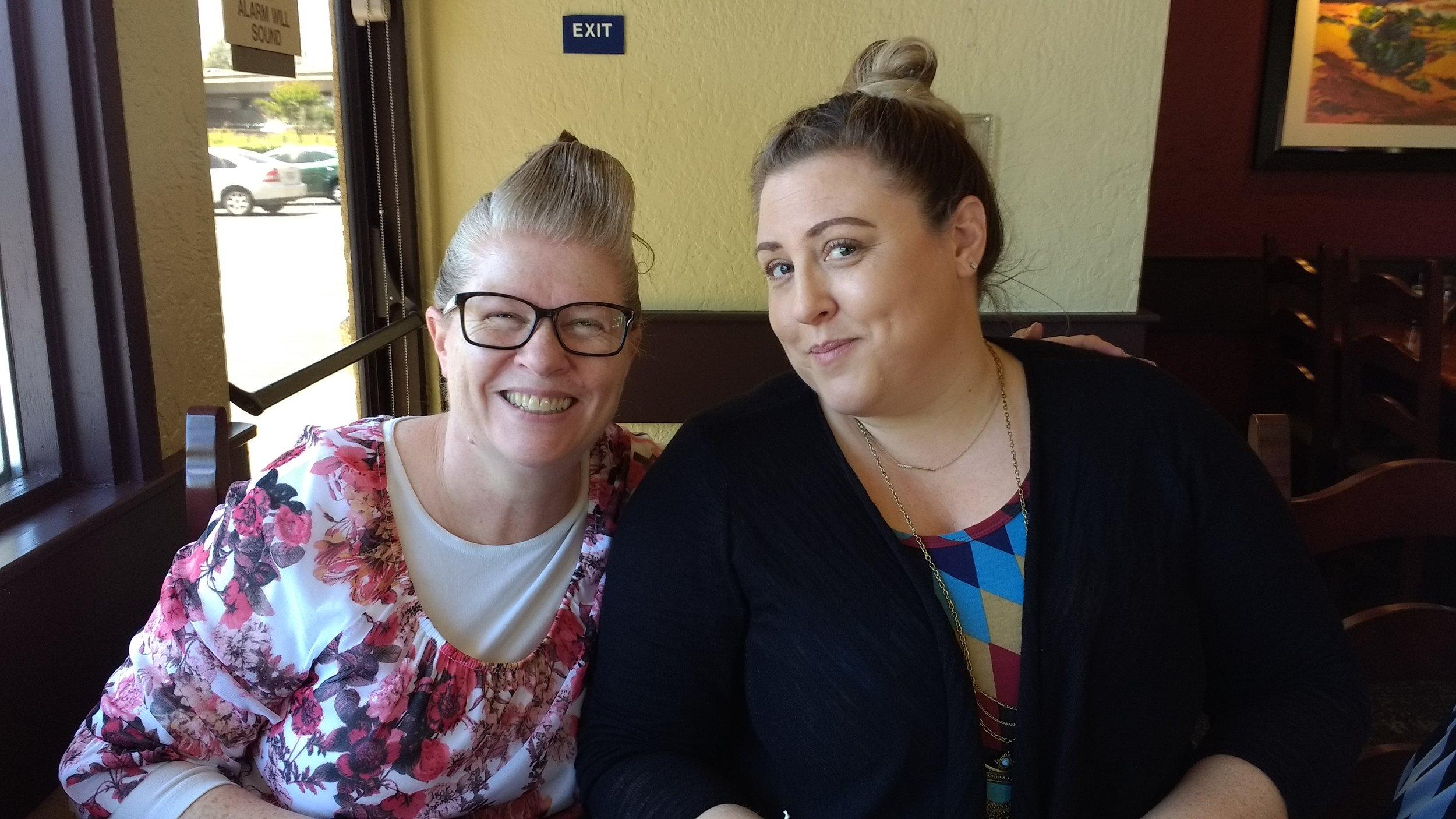 Sis. Green with daughter Cari