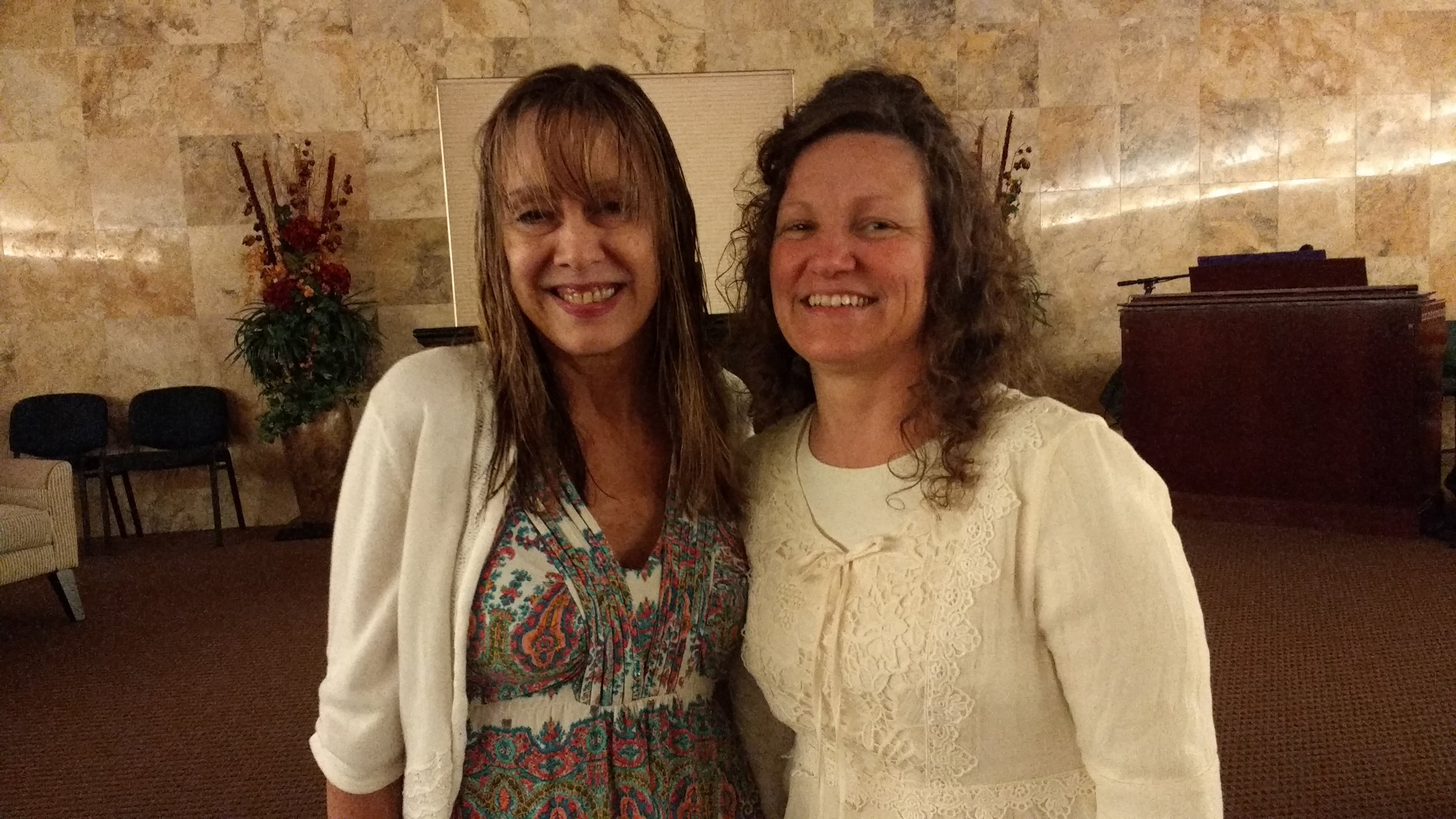 Robin and Sis. Jacquie