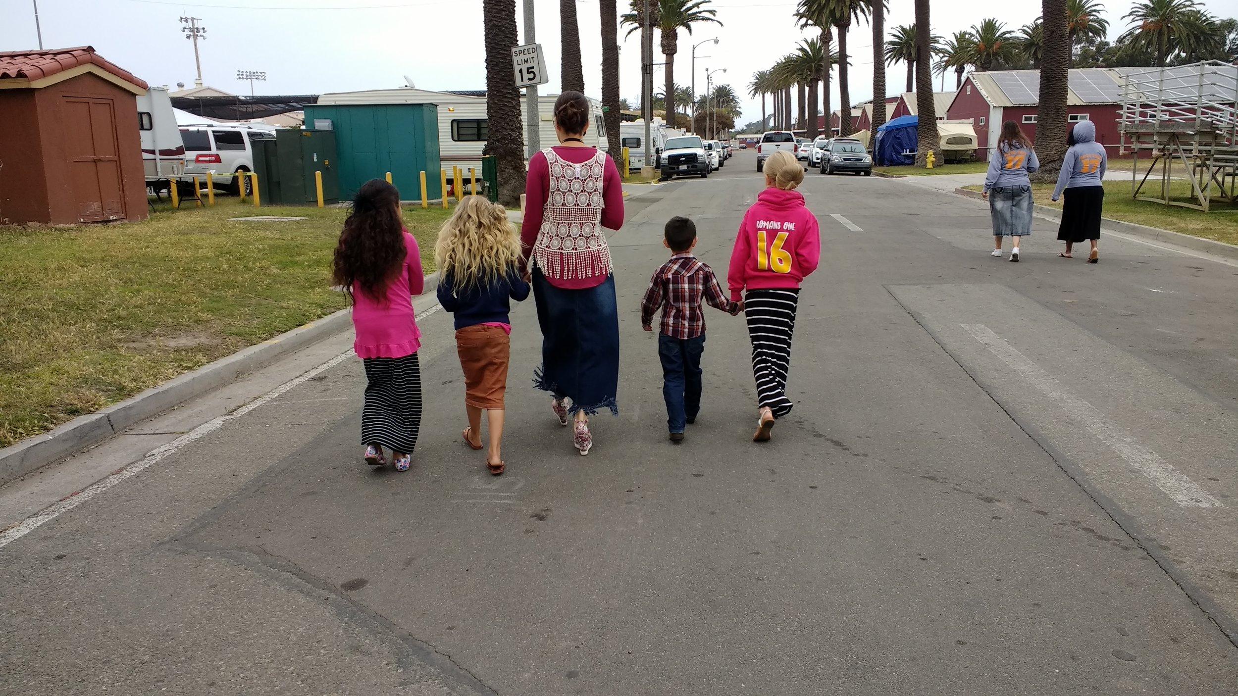 Jazlynn, Mandy, Jennifer, Jared and Emily