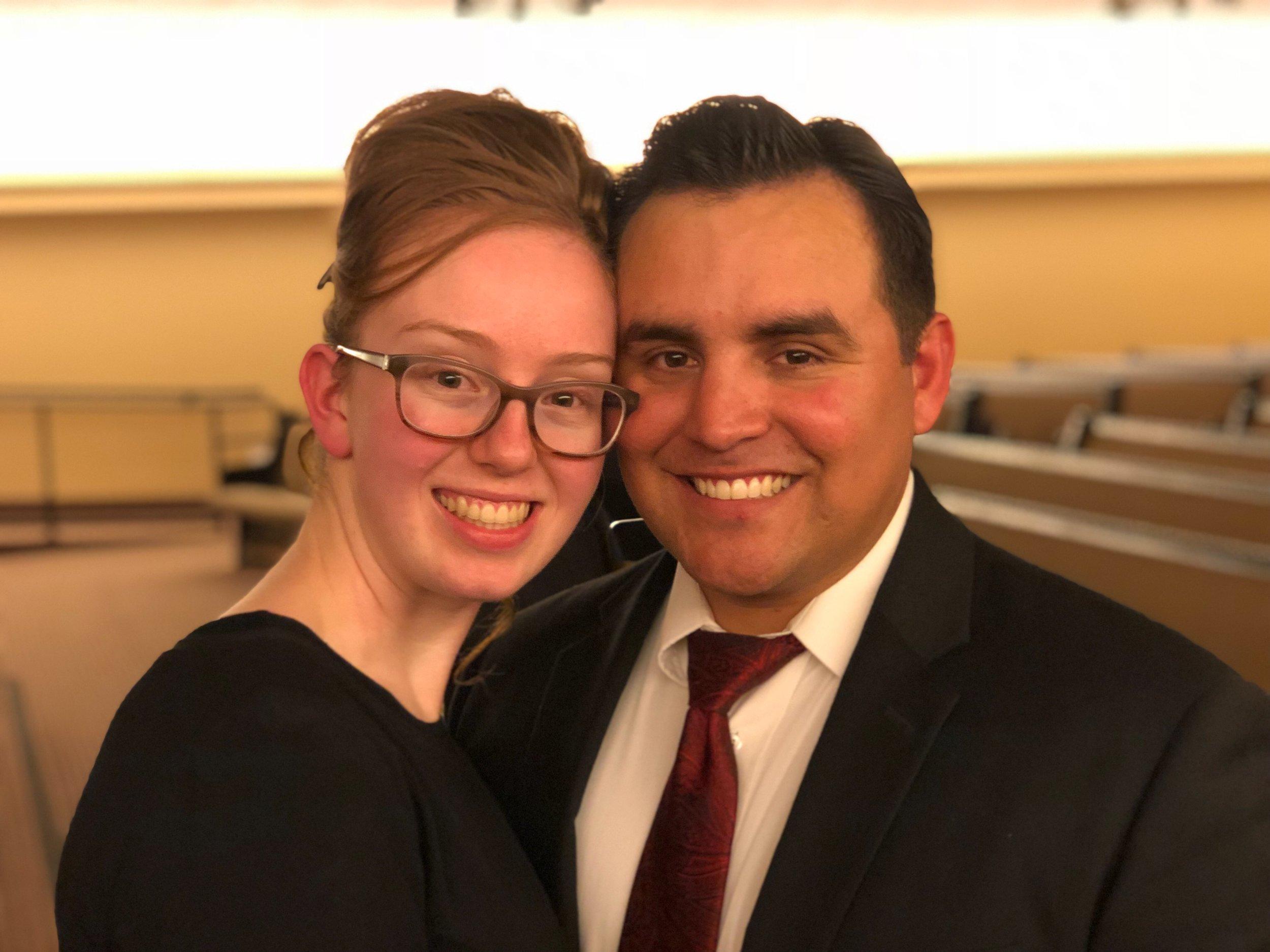 Raul and Sarah Davis, Junior Youth Directors