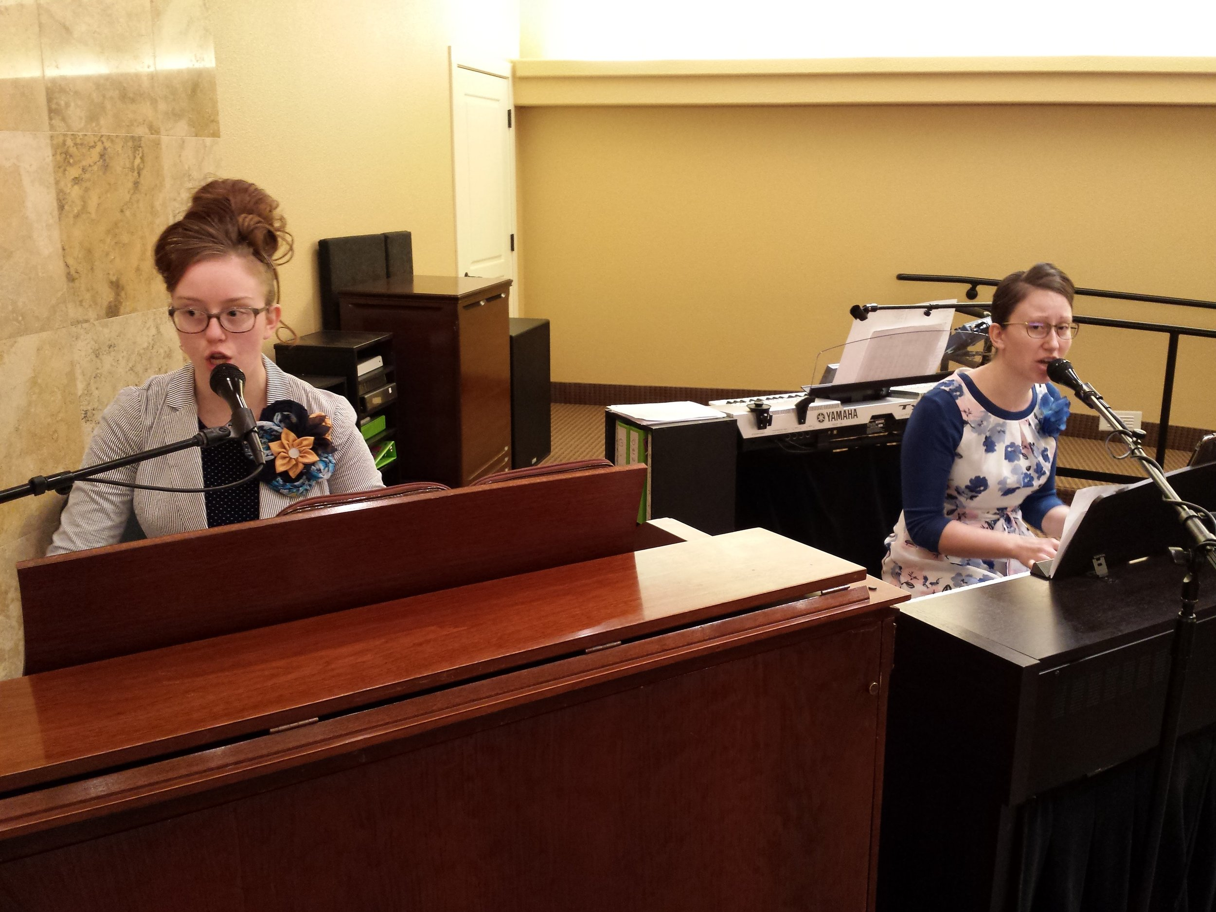Organist - Sarah Davis    Pianist - Jennifer Peterson