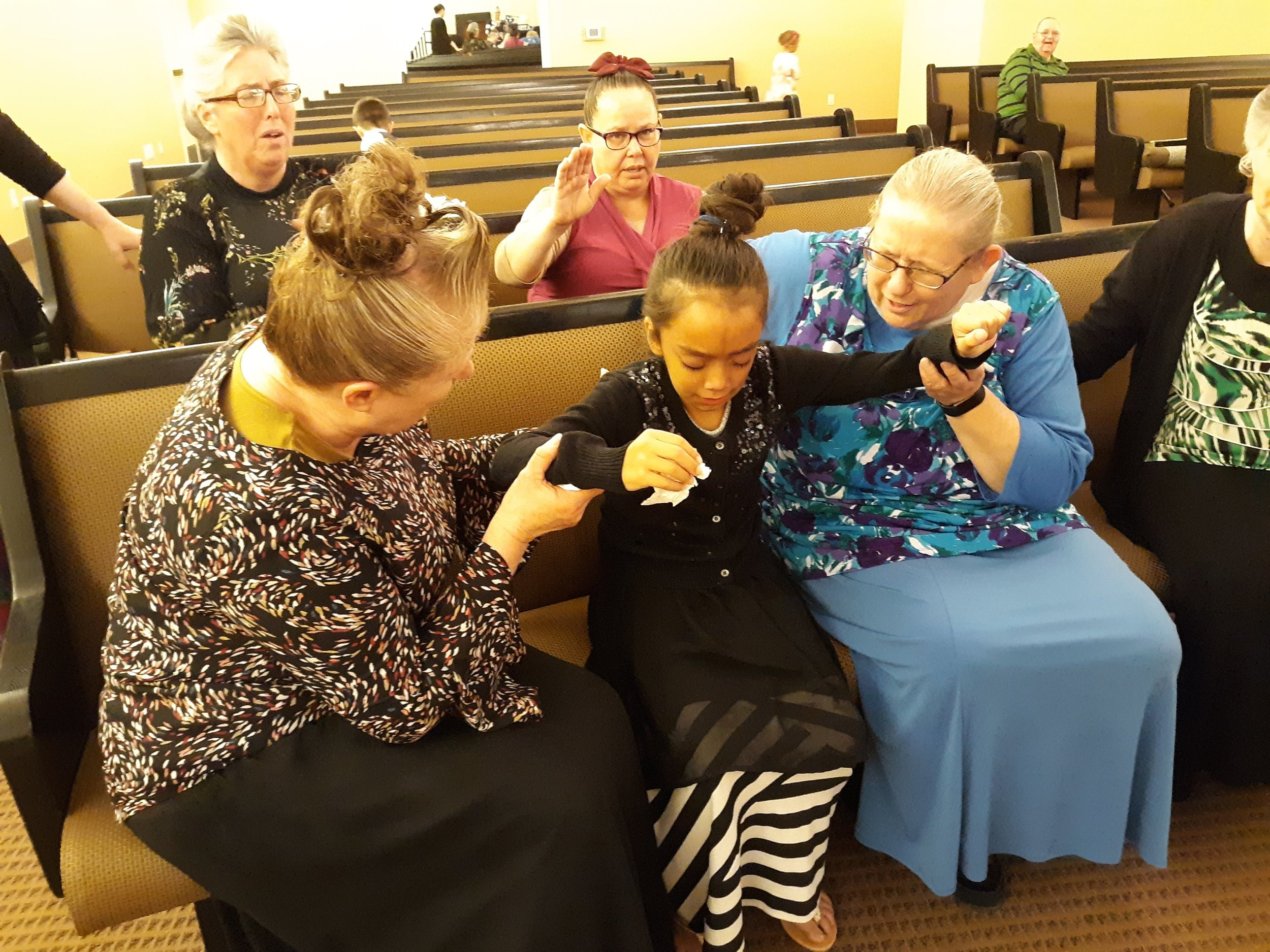 Esperanza seeking for the Holy Ghost