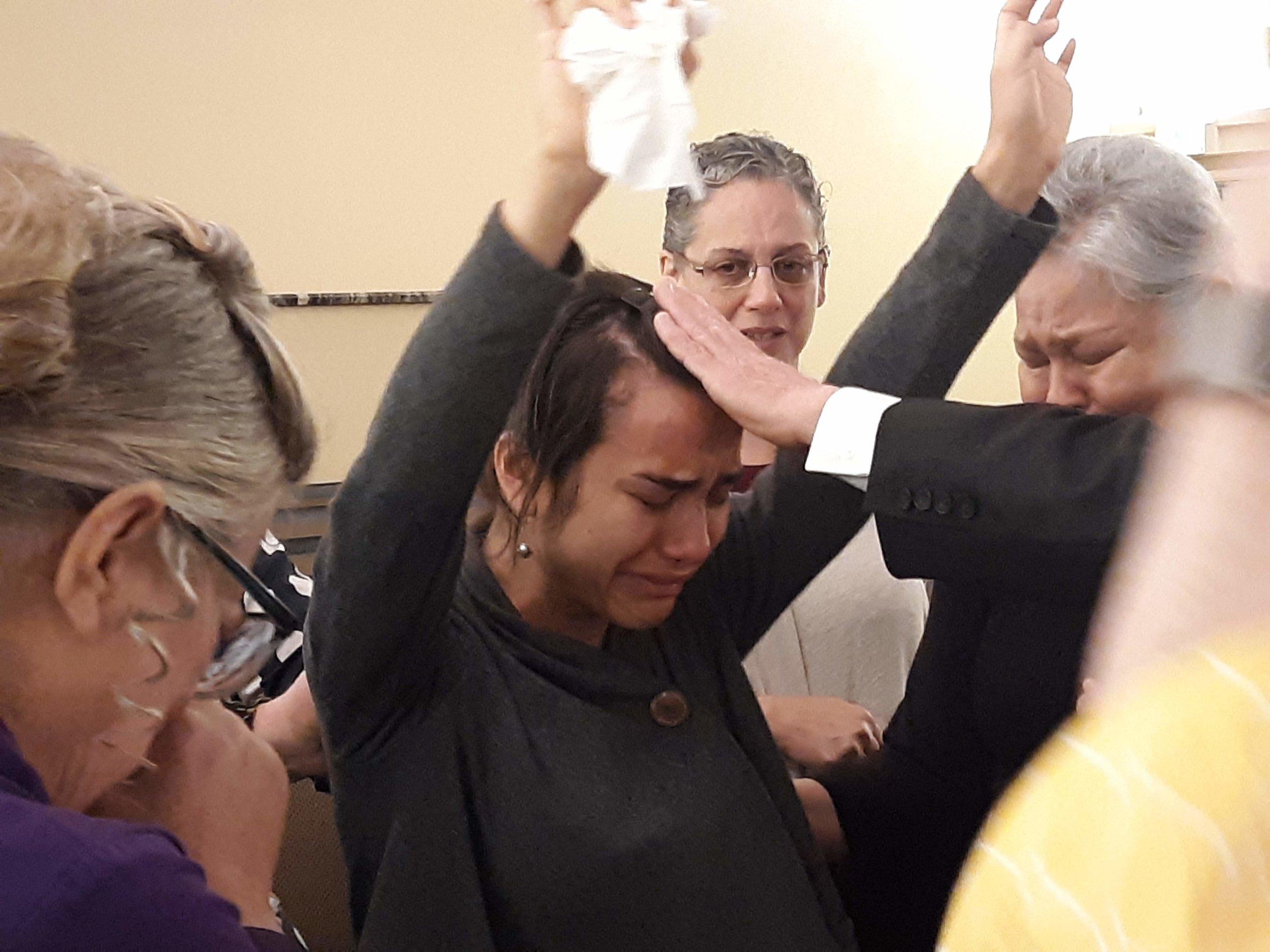 Desiree Bennett - a powerful move of God.