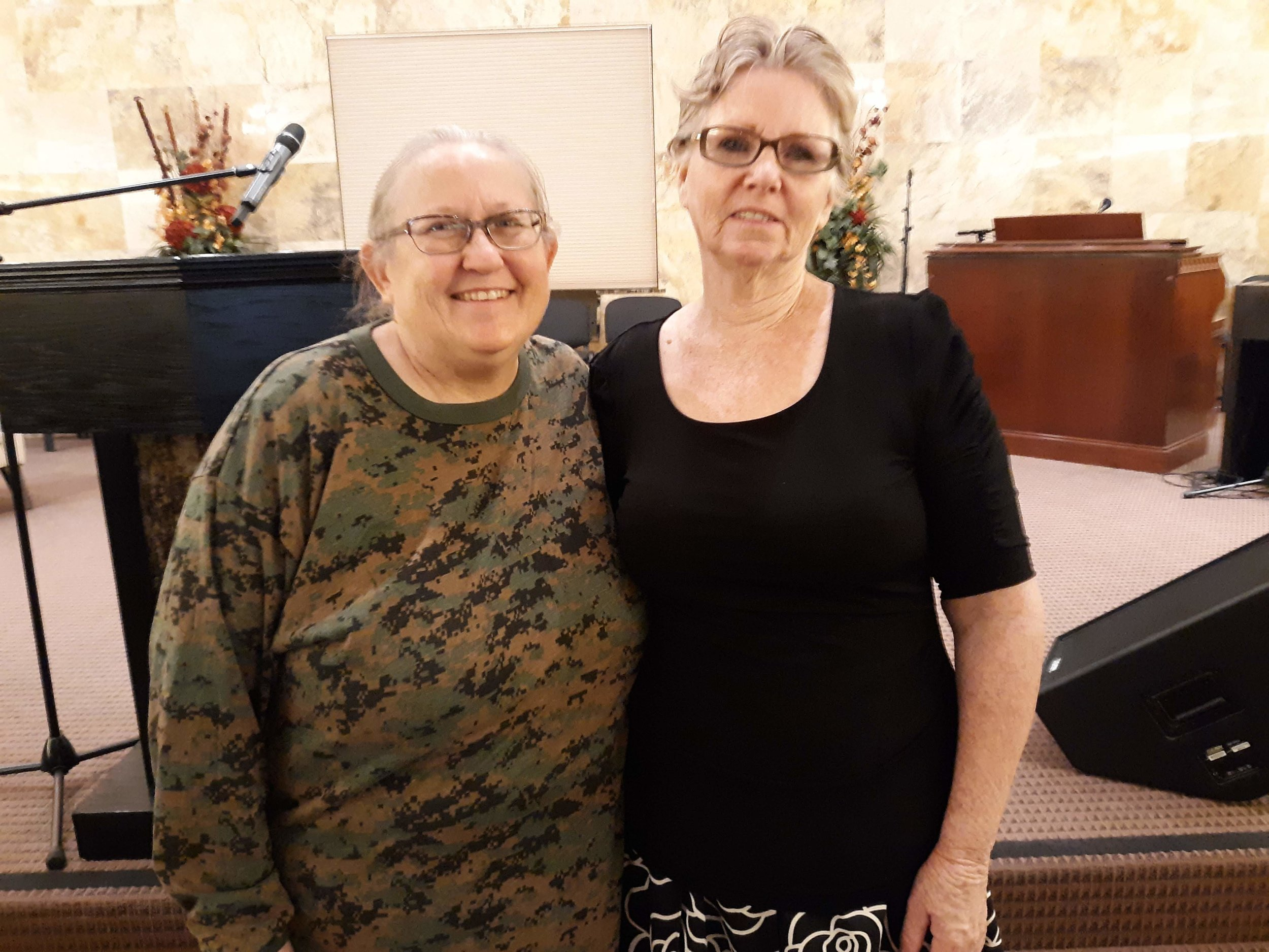 Sis. Debbie Ann and Elaine