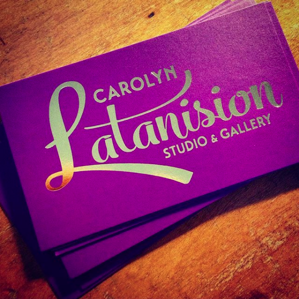 CAROLYN LATANISION, NWS • FINAL BUSINESS CARDS