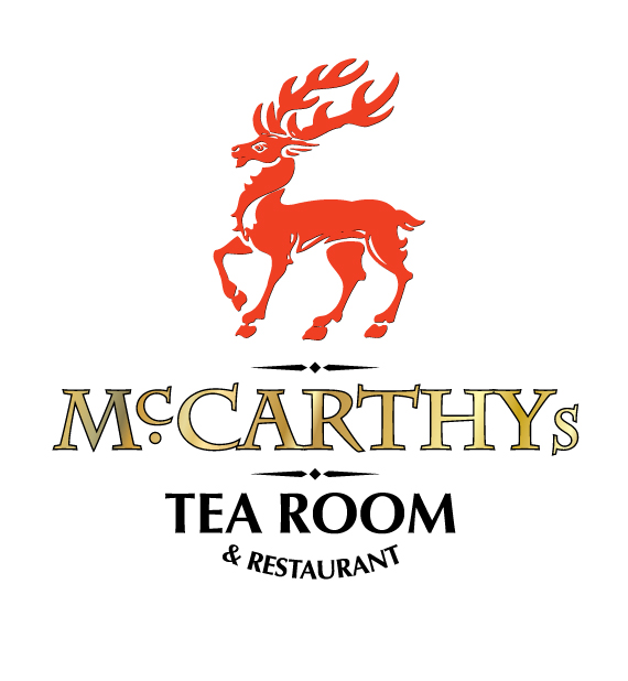 Original McCarthy's Tea Room Logo • Sayre Design