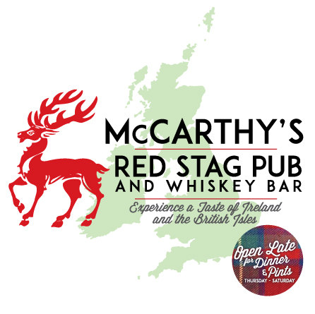 McCarthy's Logo • Website Full Transition