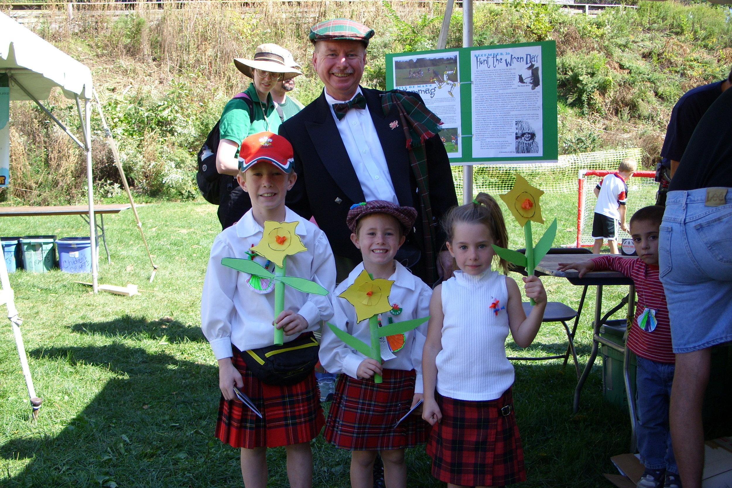 Celtic Quest 2007 • Welsh Heritage Family