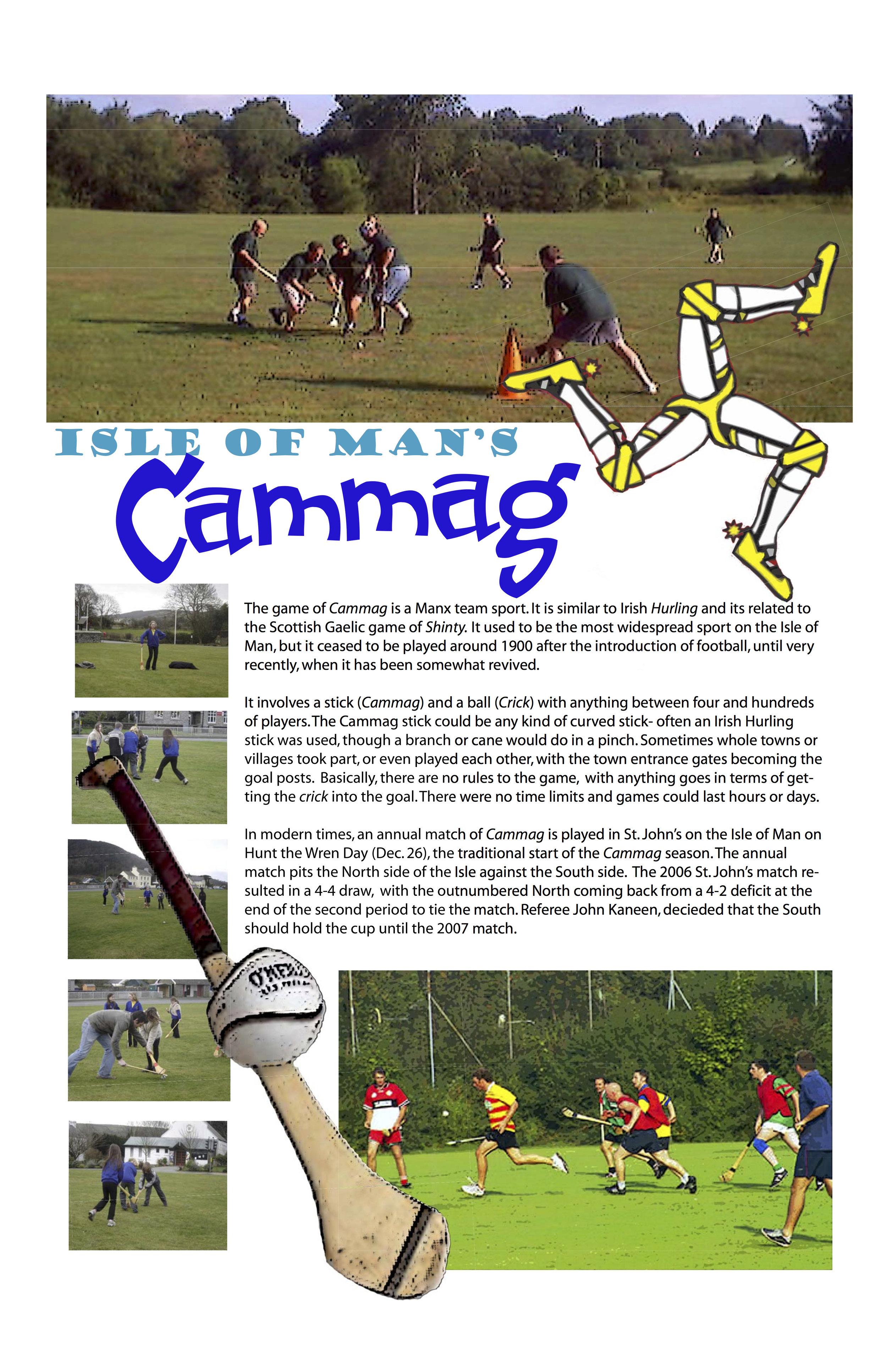 Isle of Man • Cammag
