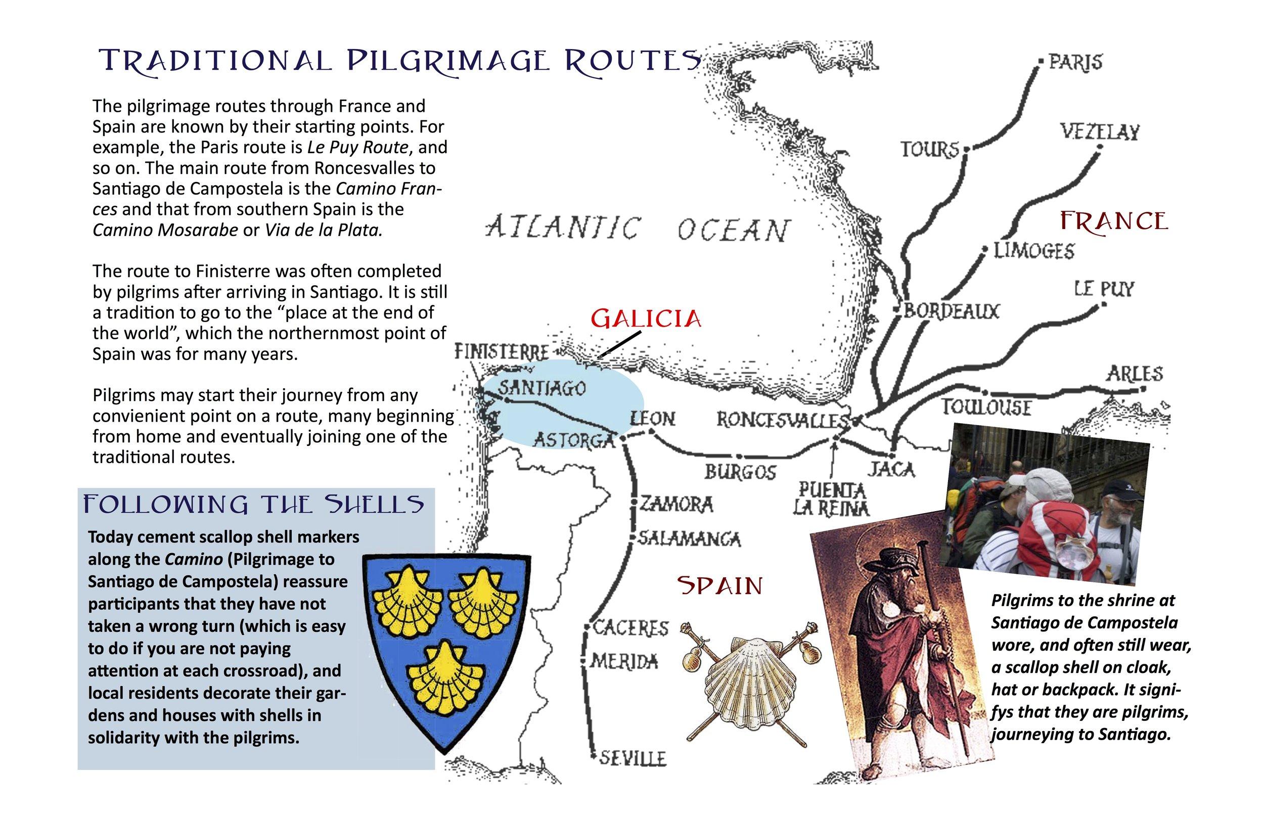 Galicia • Pilgrimage to Santiago de Campostela