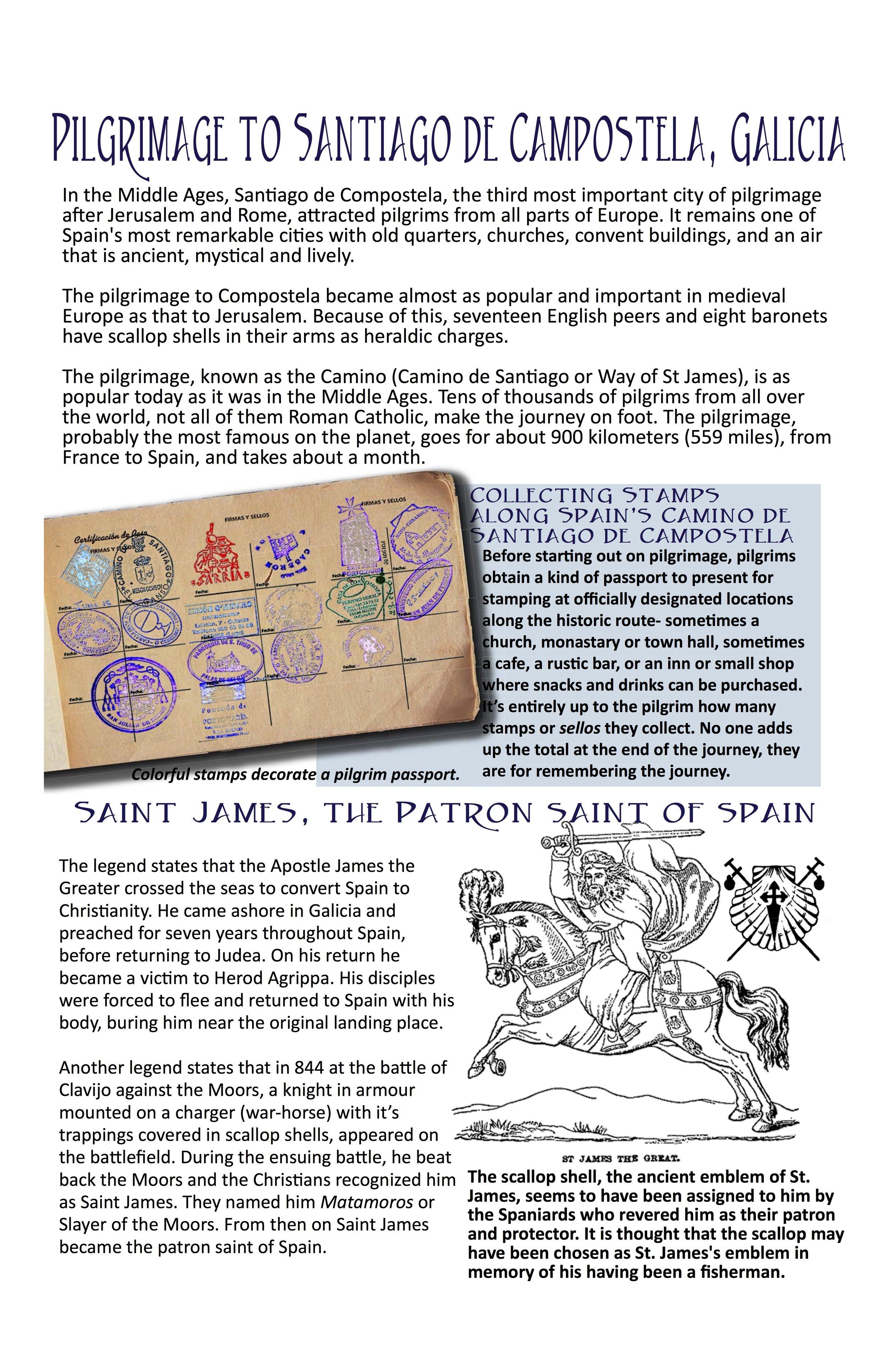Galicia • Pilgrimage and Saint James