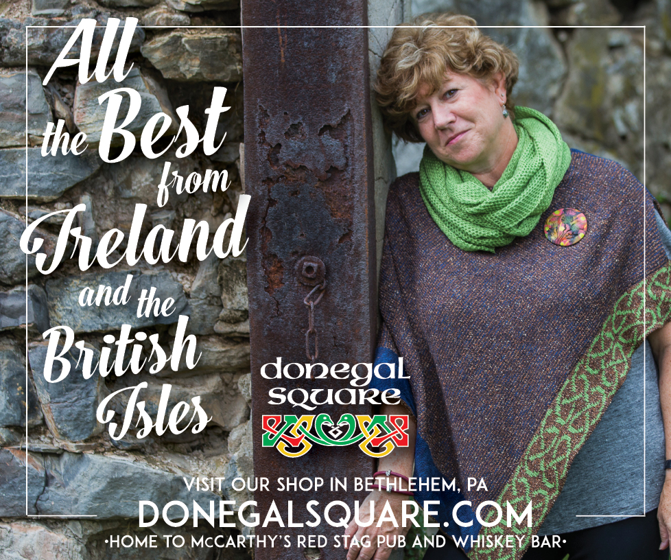 ALL THE BEST • 300 x 250px DIGITAL AD  CLIENT: DONEGAL SQUARE • BETHLEHEM, PA PLACEMENT:  IrishCentral.com , 2018 WORK: Adobe InDesign