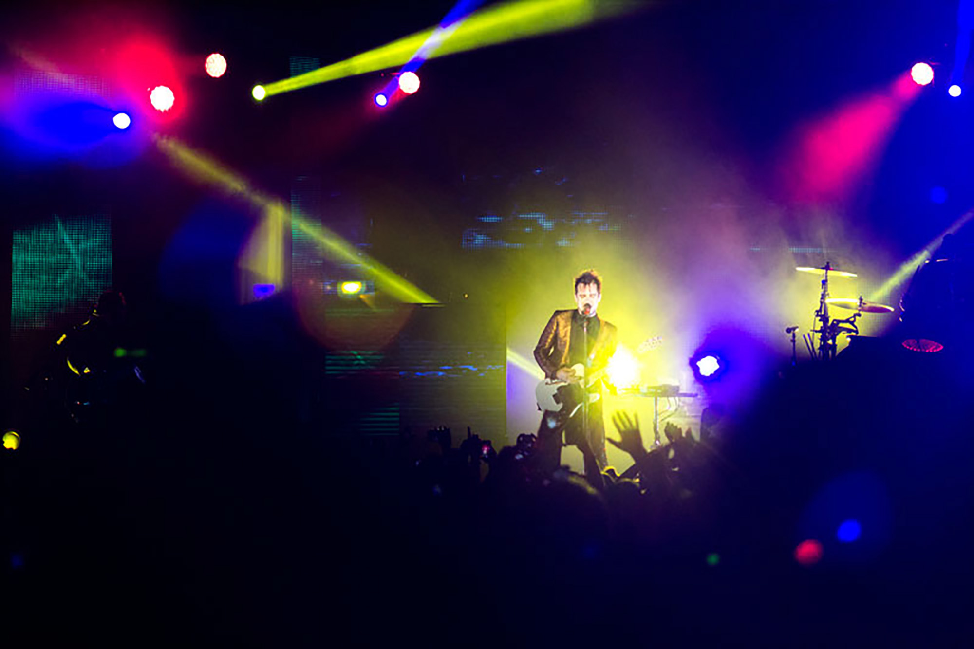 A special night for fans of old and new, Panic! at the Disco's Brendon Urie, 26, of Las Vegas, NV, performed at The Marquee Theatre in Tempe, AZ, for Valentine's Day.