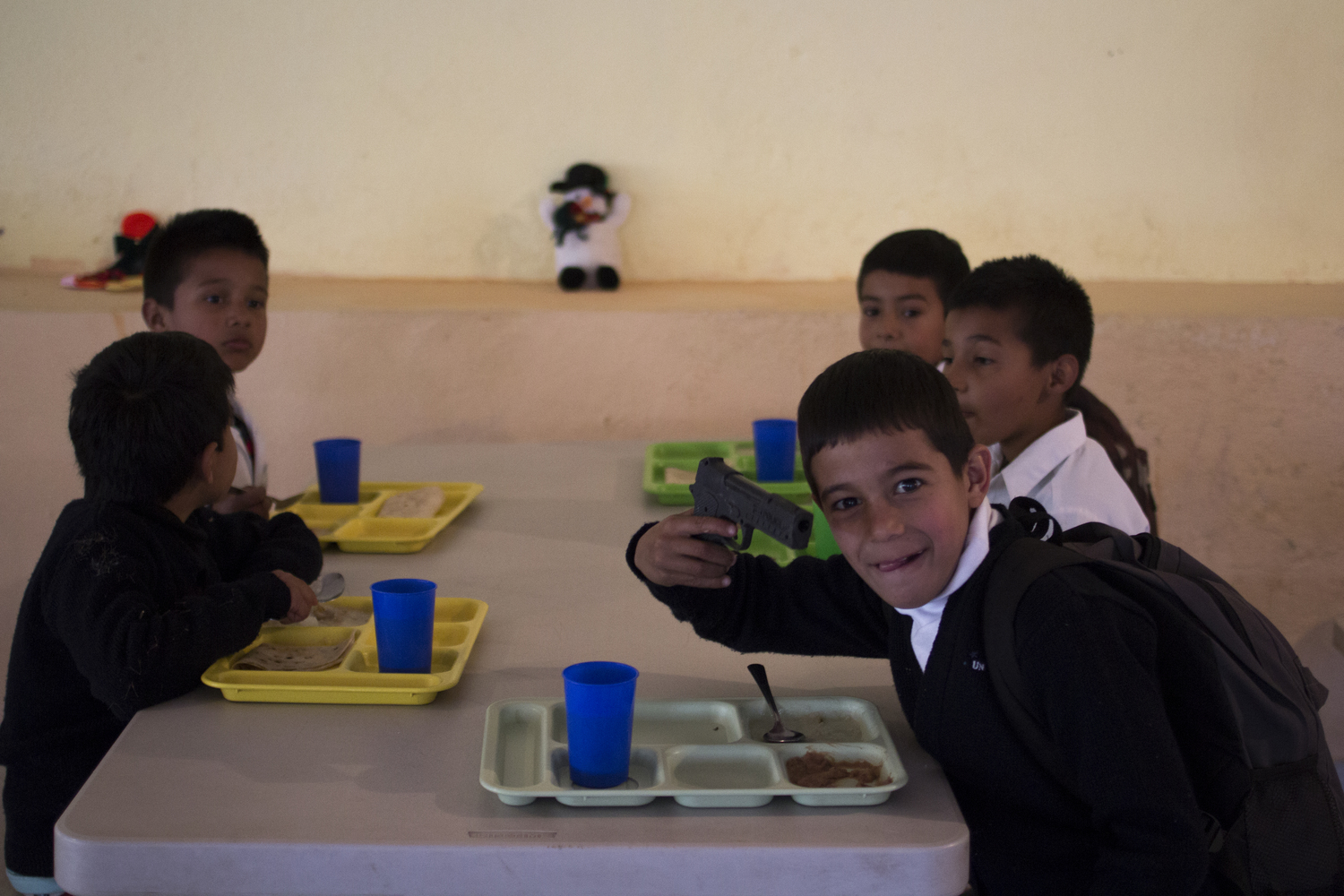 Children at HEPAC in Nogales, Sonora, Mexico. 2014.