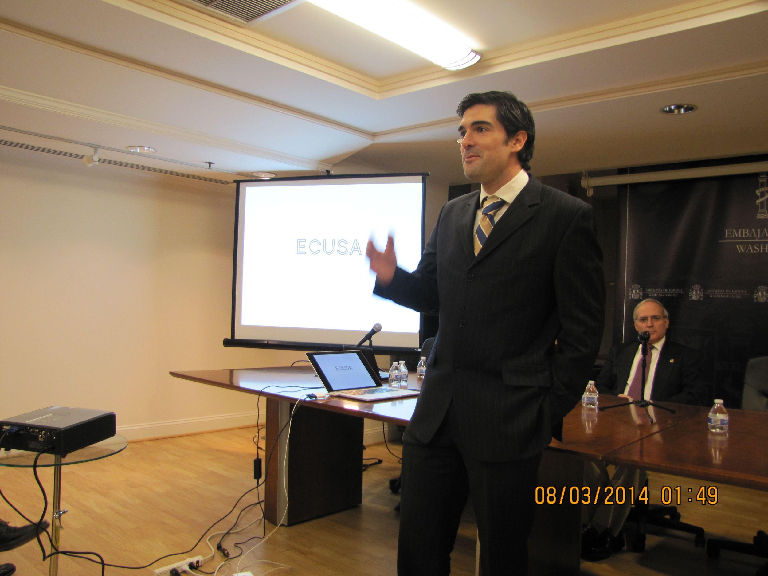 Ignacio Ugarte-Urra, presidente de ECUSA