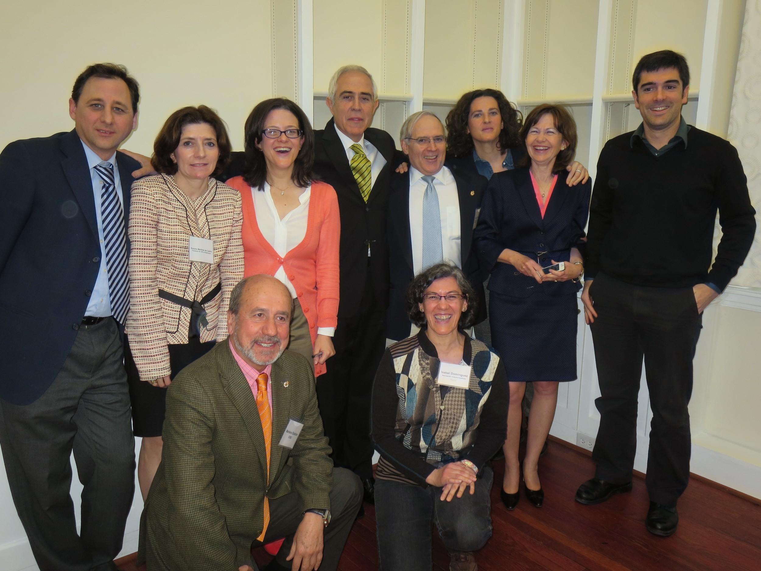 Miembros de ECUSA, ponentes y algunos de las personas presentes entre el público.