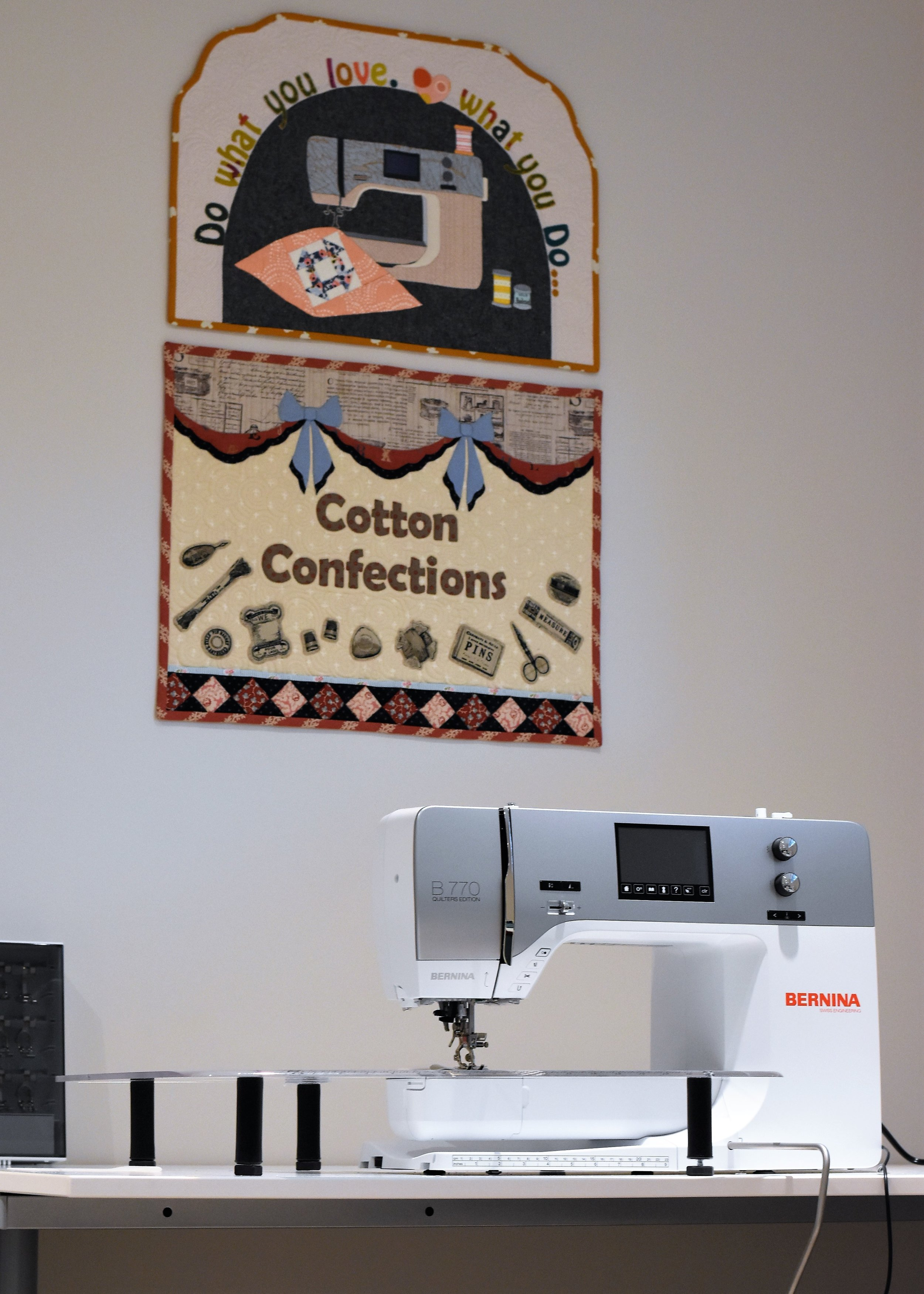 Bernina Q20 And The B770 Update Cotton Confections