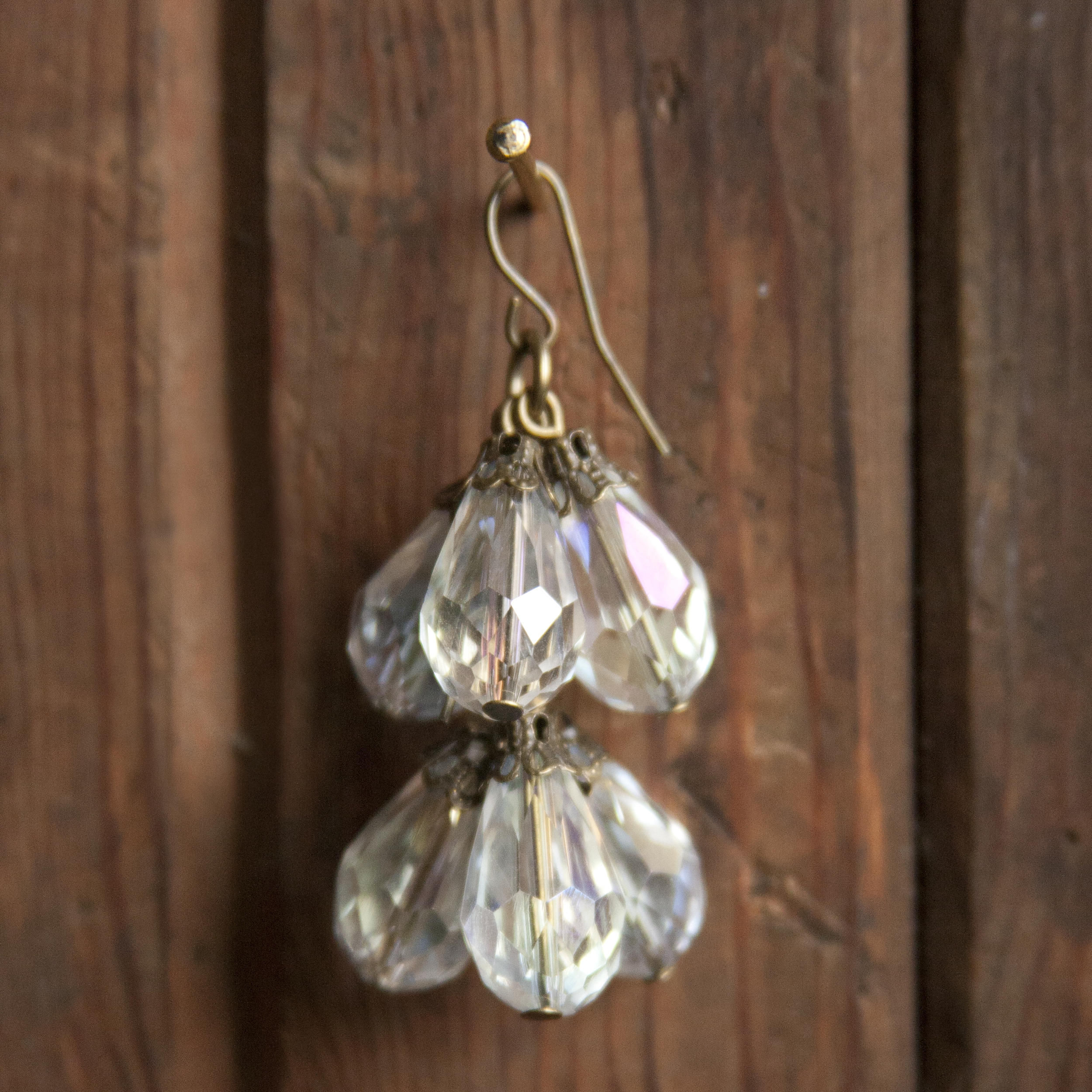 BAC for Renee antique brass and crystal bead earring cluster 2.jpg