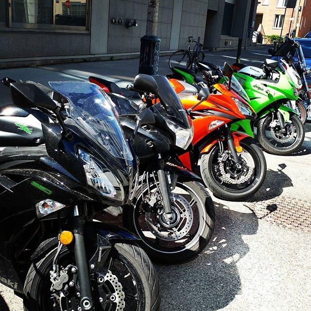 Bike to work week!  And the rest of the year :) #motorcycles #moto #ride #helmet #motorcycle #speed #iridemotorcycles #biker #honda #yamaha #suzuki #kawasaki