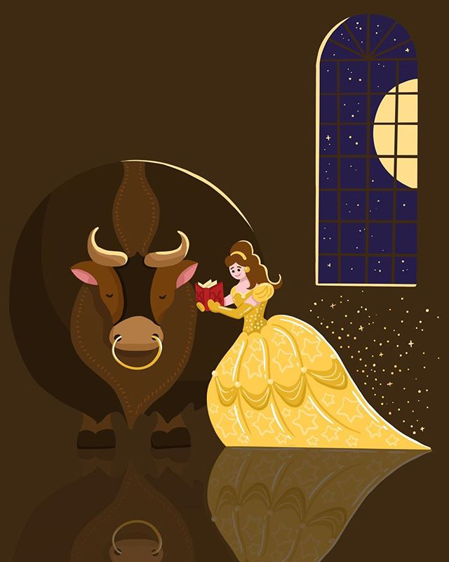 Disney | Taurus ♉️ Belle was pretty bull-headed.