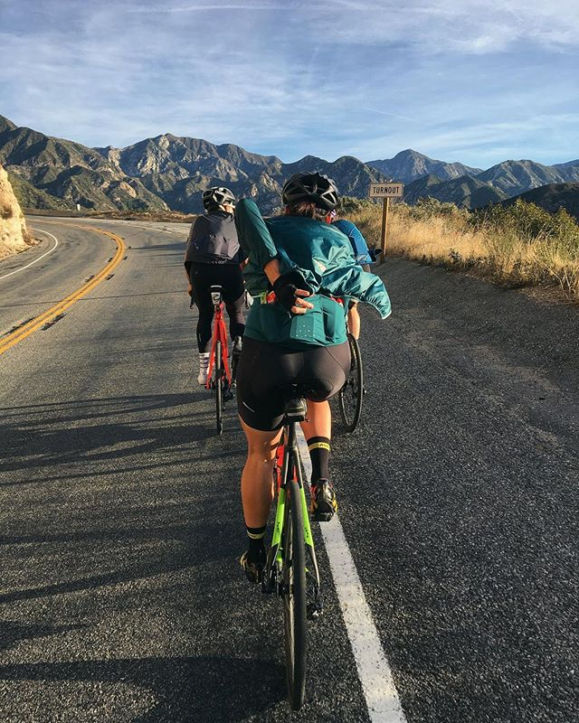 How to winter: #campcannondale.  Check out @ridecannondale next week for the real reason we assembled the squad in California.