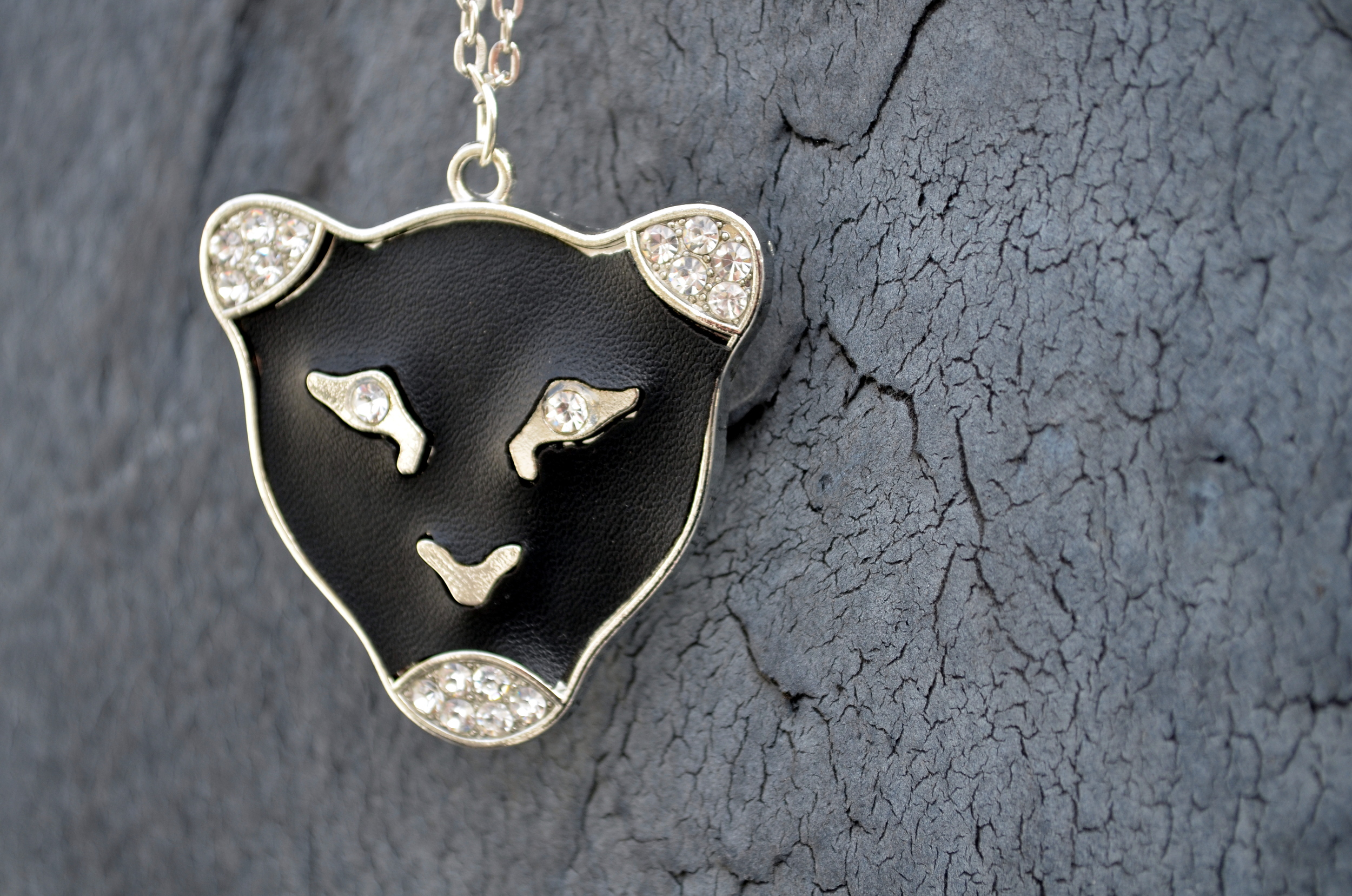 bad cat pendant