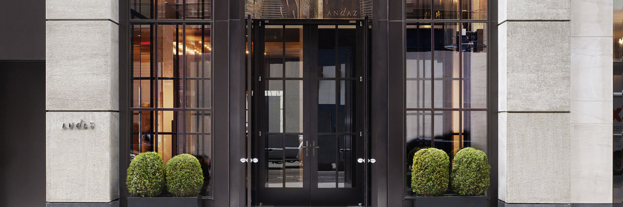 Andaz 5th Avenue - Front Entrance