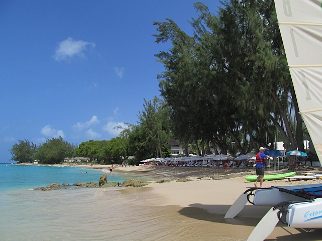 Colony Club, Barbados - The beach