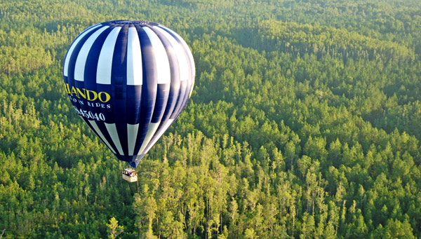 Balloon Ride from £110.00 pp