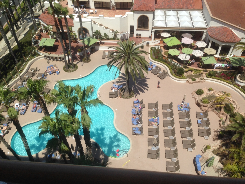Hilton Waterfront hotel, Huntington Beach