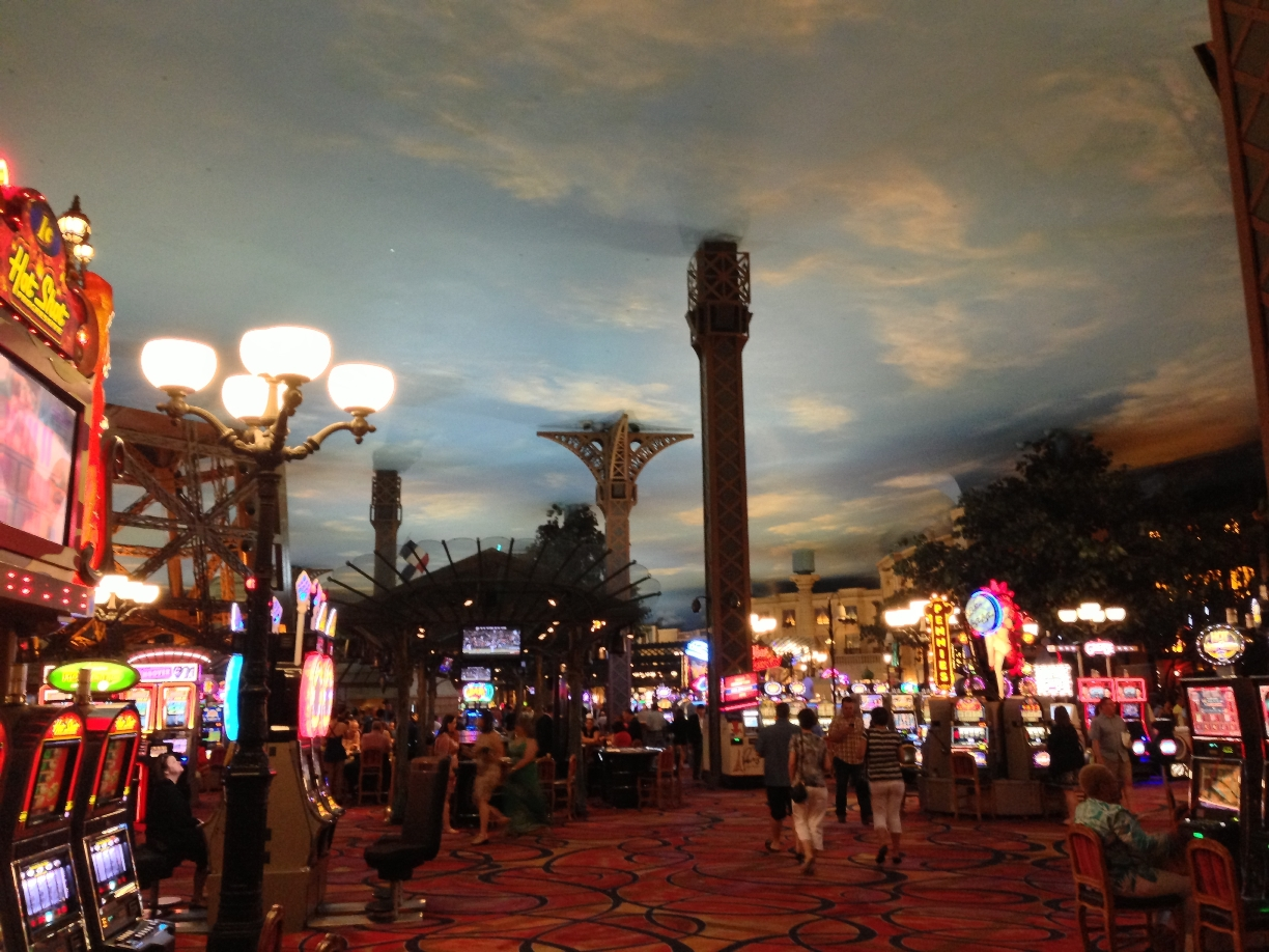 Inside The Paris Hotel, Las Vegas