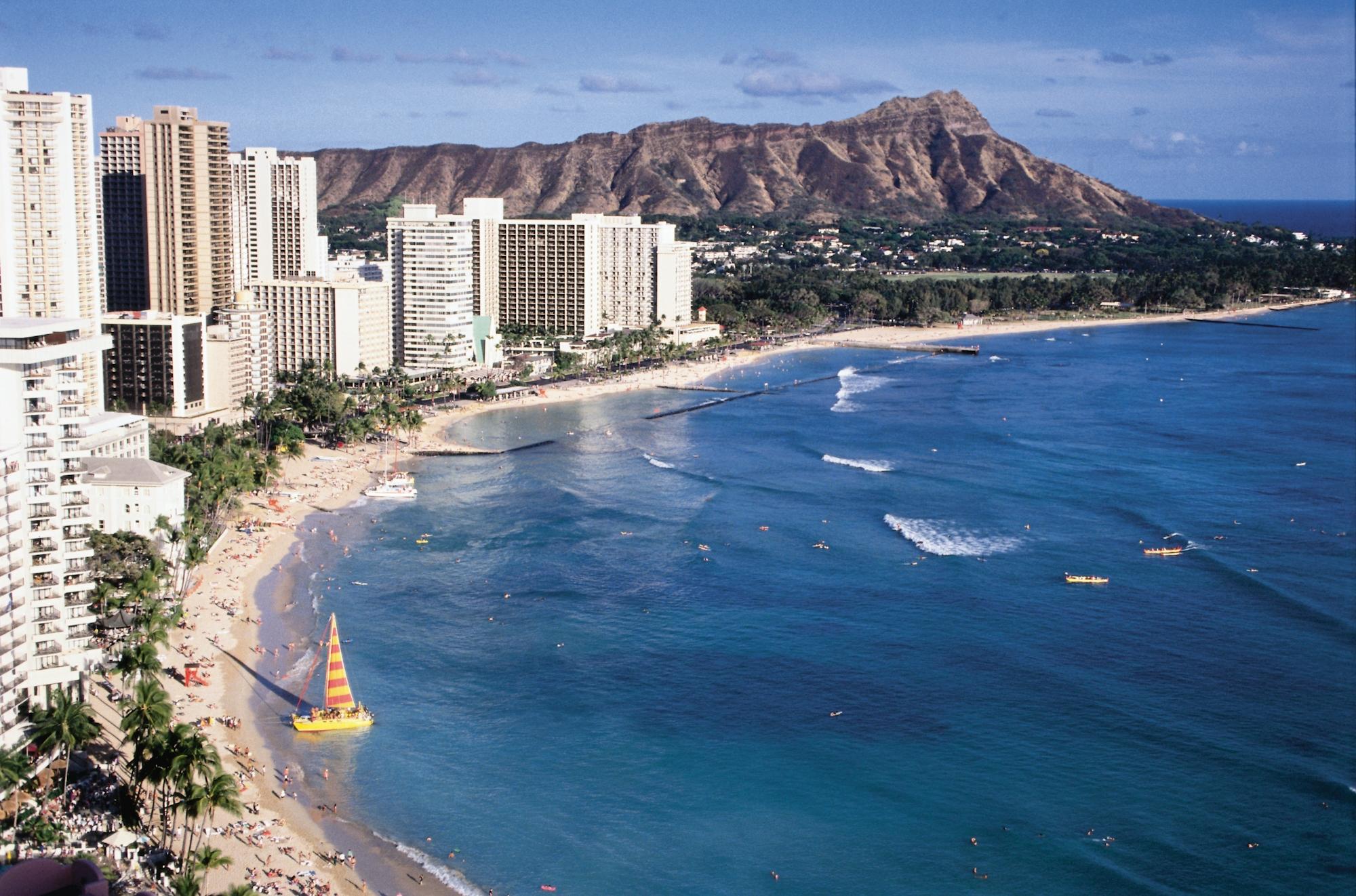 Hawaii, Waikiki Beach, Oahu