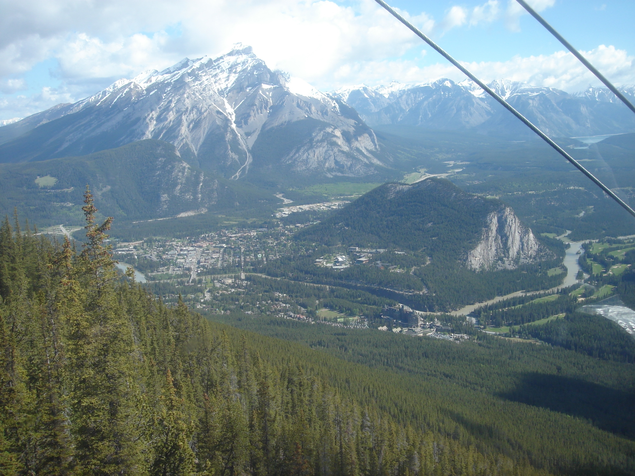 Banff from the Gondola excursion
