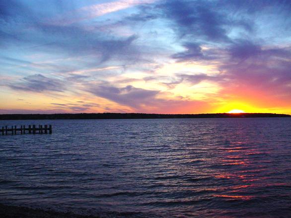Marthas Vineyard Sunset