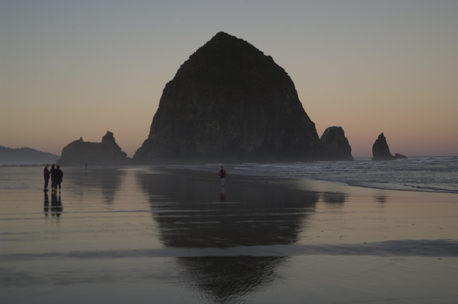 Oregon Canon Beach Sunrise