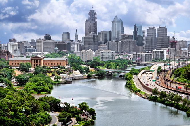 Philadelphia City Scape