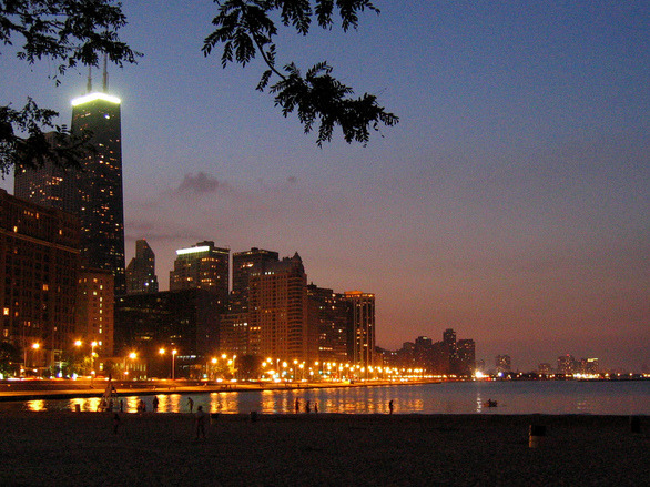 Chicago Skyline & Lake Front