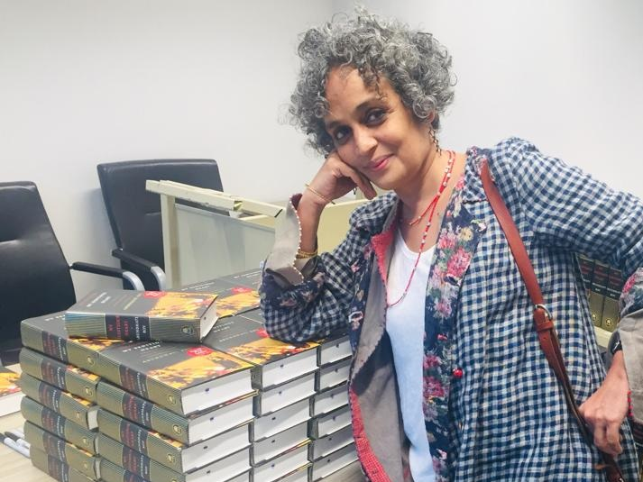 Arundhati Roy at Hay Festival 2019